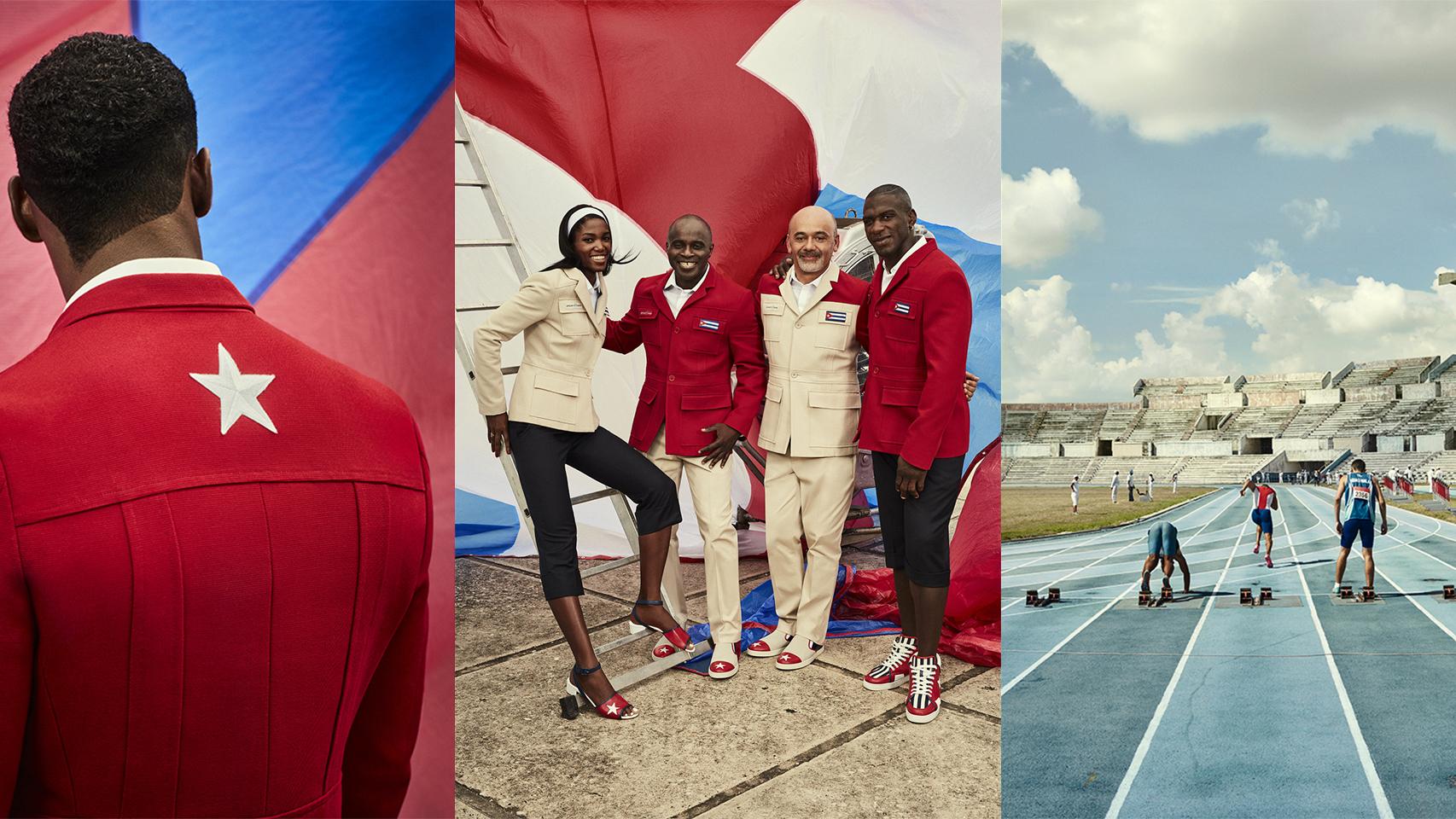 Christian Louboutin diseña la equipación de Cuba para los JJOO de Río 2016.