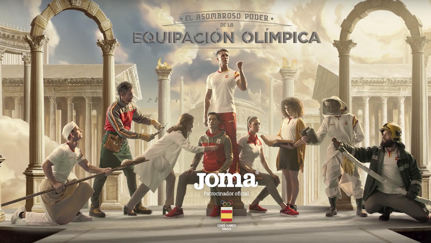 Joma diseña la equipación de España para los JJOO de Río 2016.