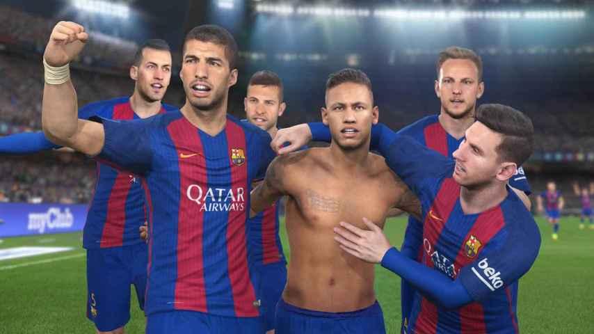 El Barça, el gran aliado del Pro Evolution Soccer para hacer frente a FIFA