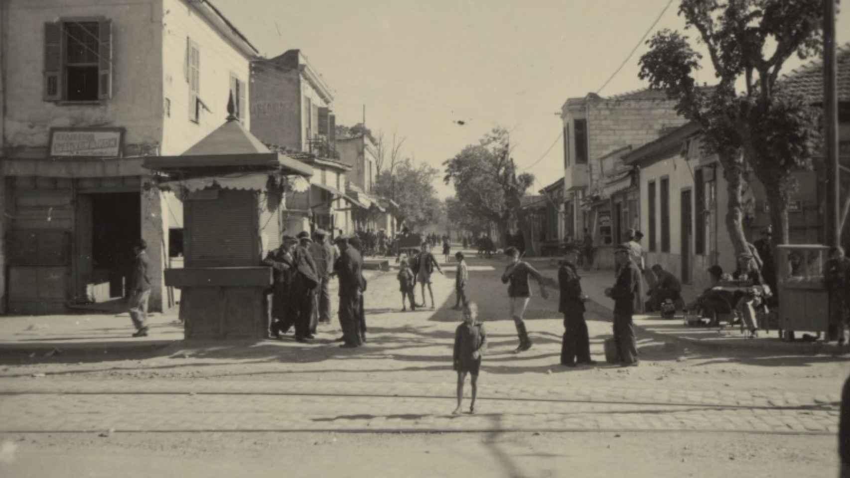 El gueto judío de Salónica.
