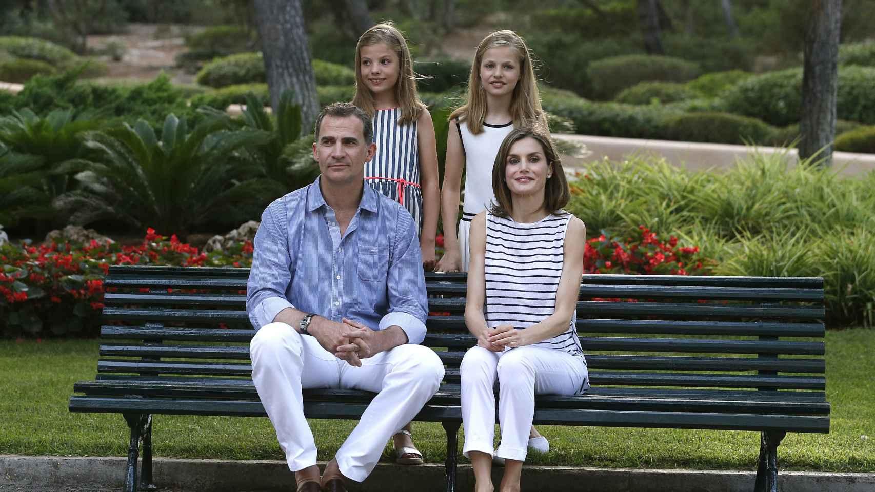 Posado de la Familia Real en Palma de Mallorca