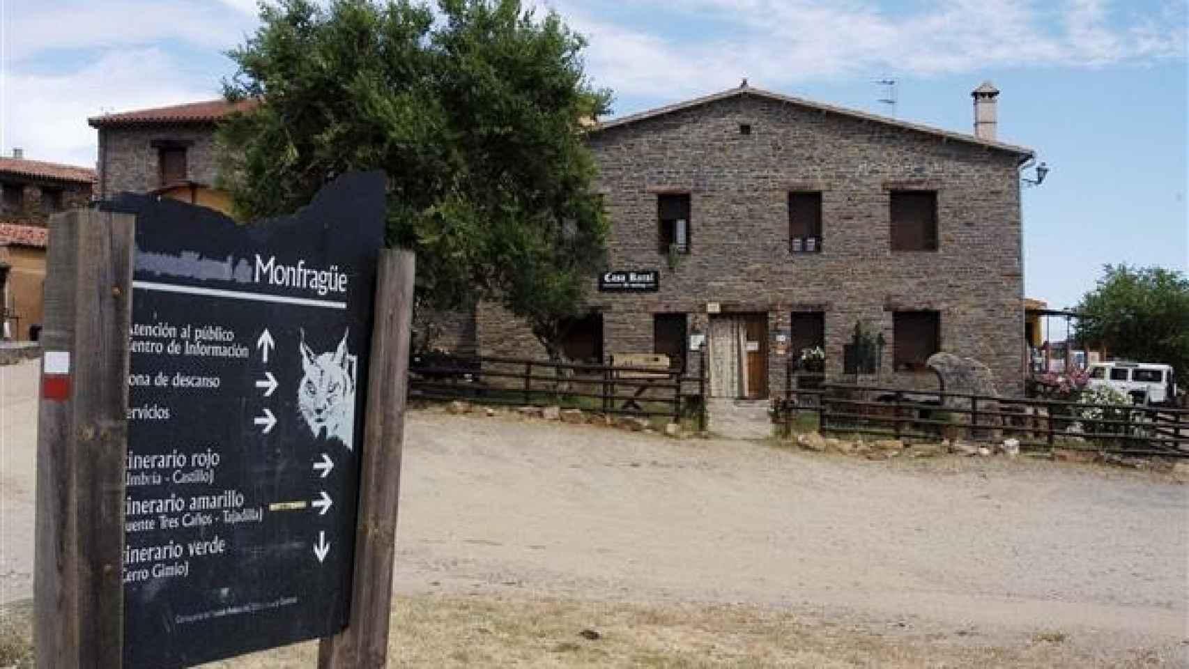 Casa rural en Villarreal de San Carlos (Cáceres).