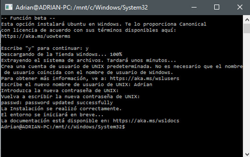ubuntu windows 10 7