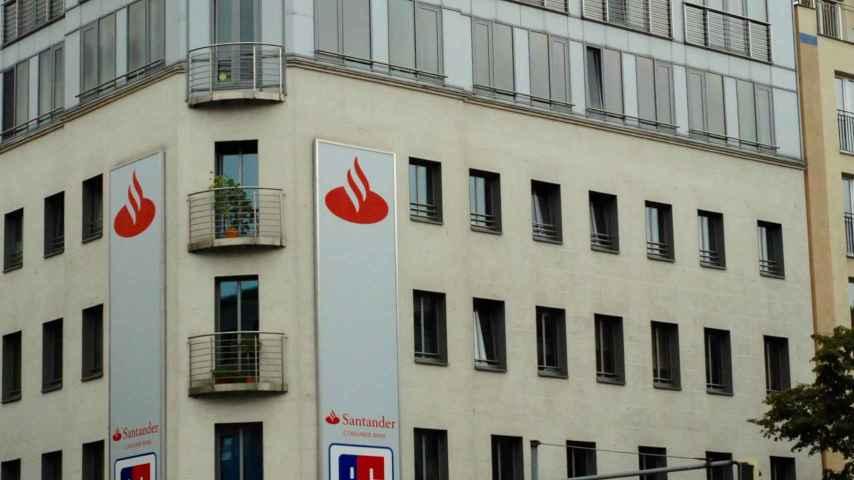 Edificio con oficinas de Santander en Berlín.
