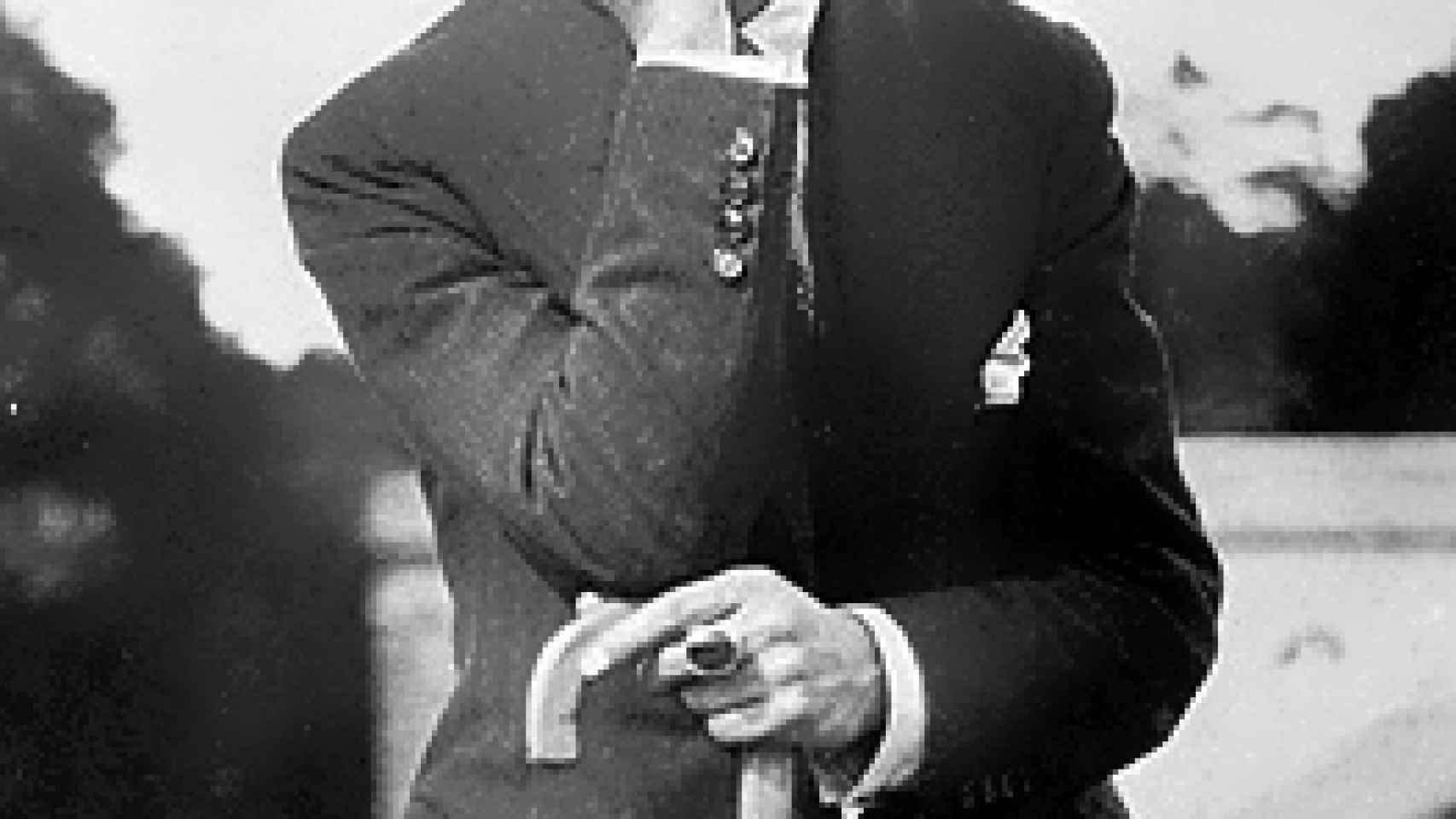 César Vallejo en 1929.