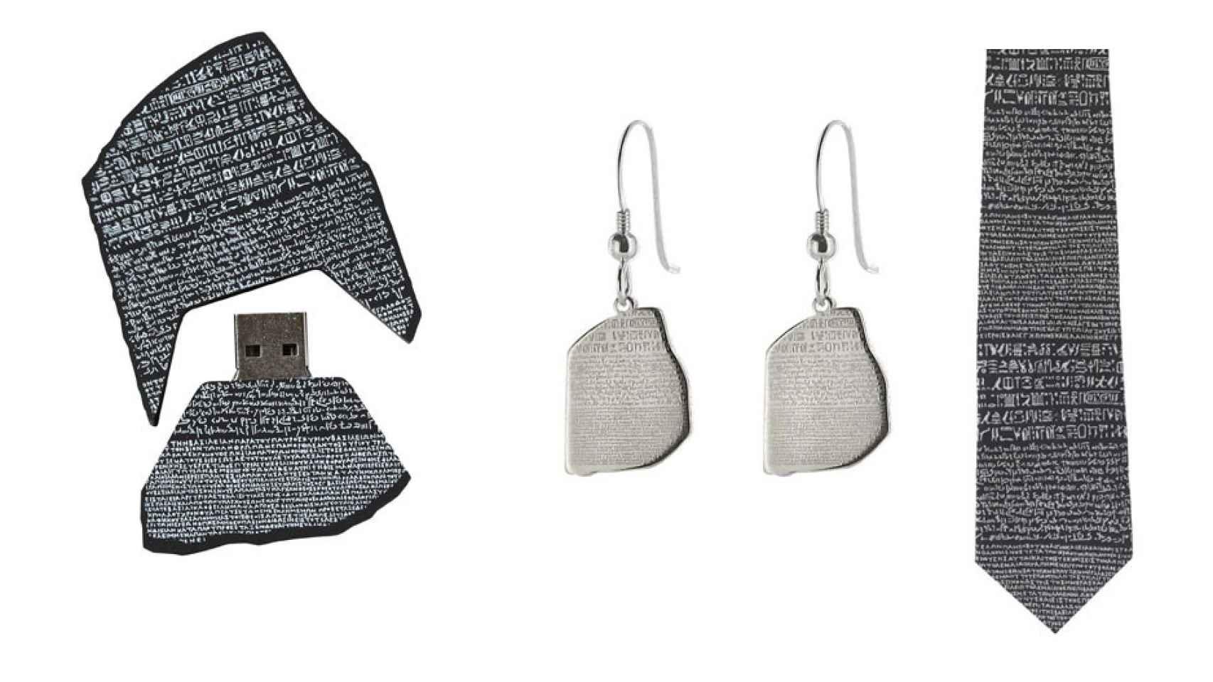 Un variado de los productos Rosetta del British.