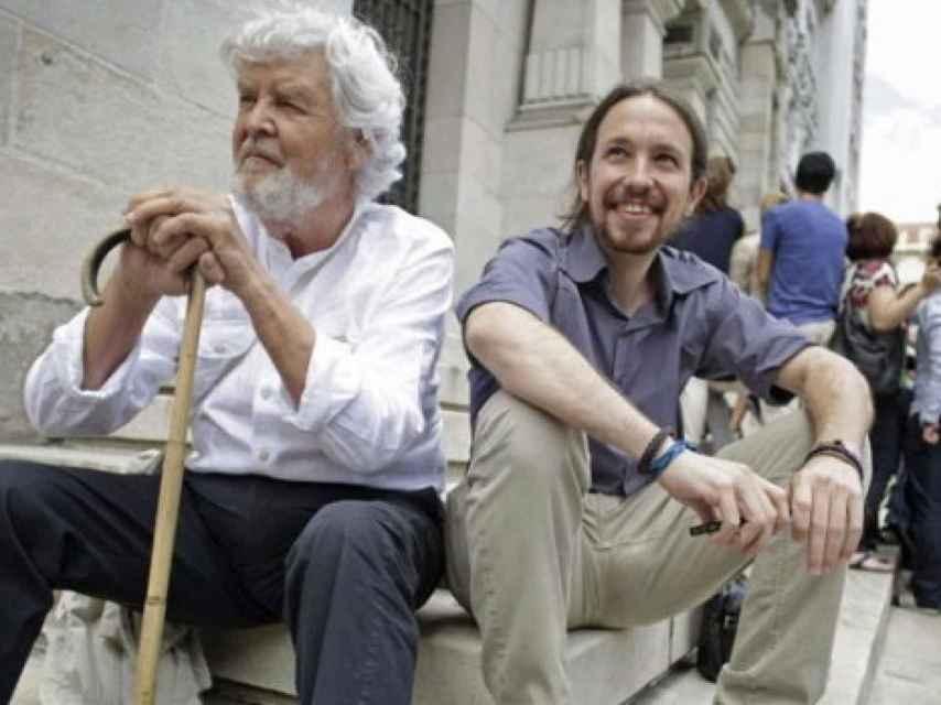 Beiras abanderó la llamada rebelión cívica en las elecciones gallegas de 2012