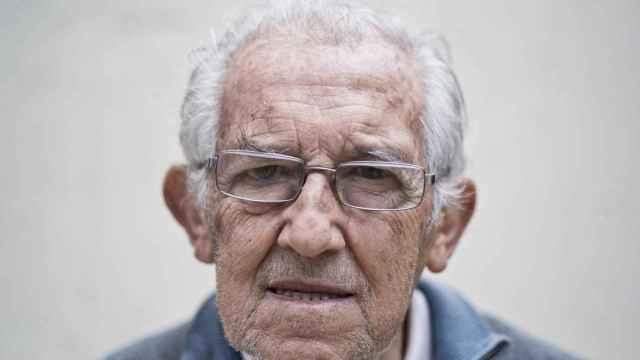 Gustavo Bueno, retratado en una de sus últimas entrevistas/ Moeh Atitar
