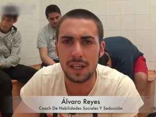 Imagen de Álvaro Reyes en uno de sus vídeos.