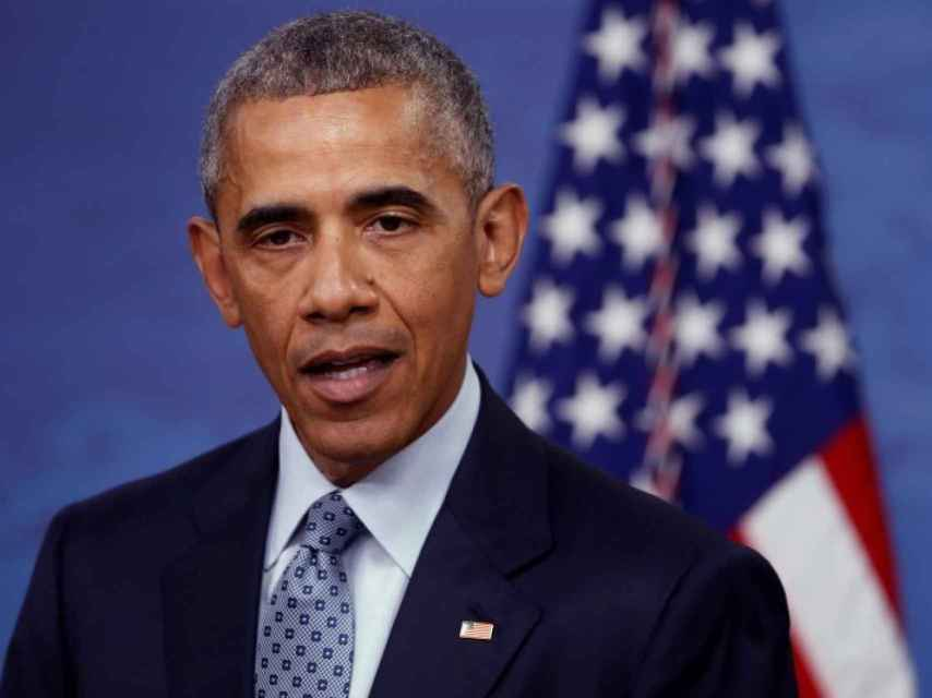 Barack Obama durante una comparecencia en Virginia.