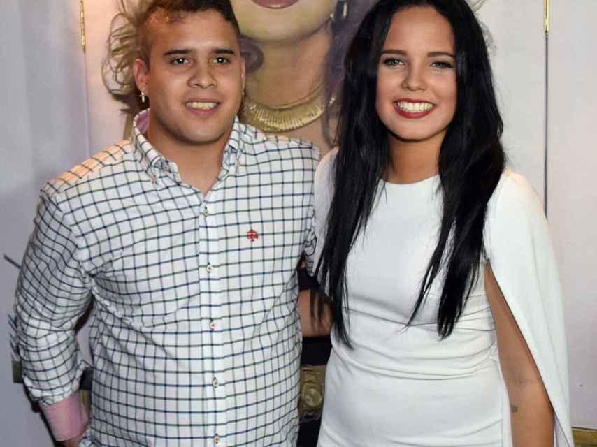 Su hermana Gloria Camila es su mayor apoyo.