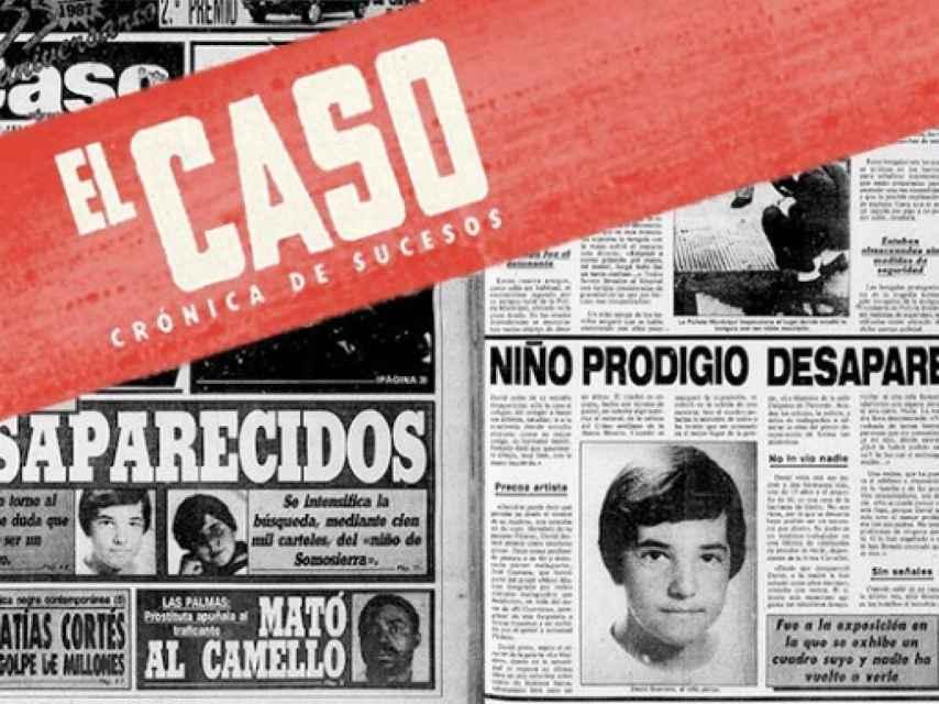 Portada de El Caso con la publicación de la desaparición del niño.