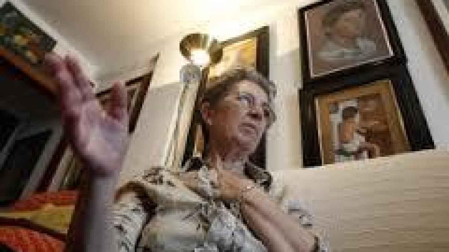 La madre de David ha tenido que dar por muerto a su hijo para poder abrir el testamento de su difunto marido.