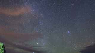 Campamento para ver el cielo de La Palma.