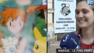 Marisol Viso, la 'pokeprofe'