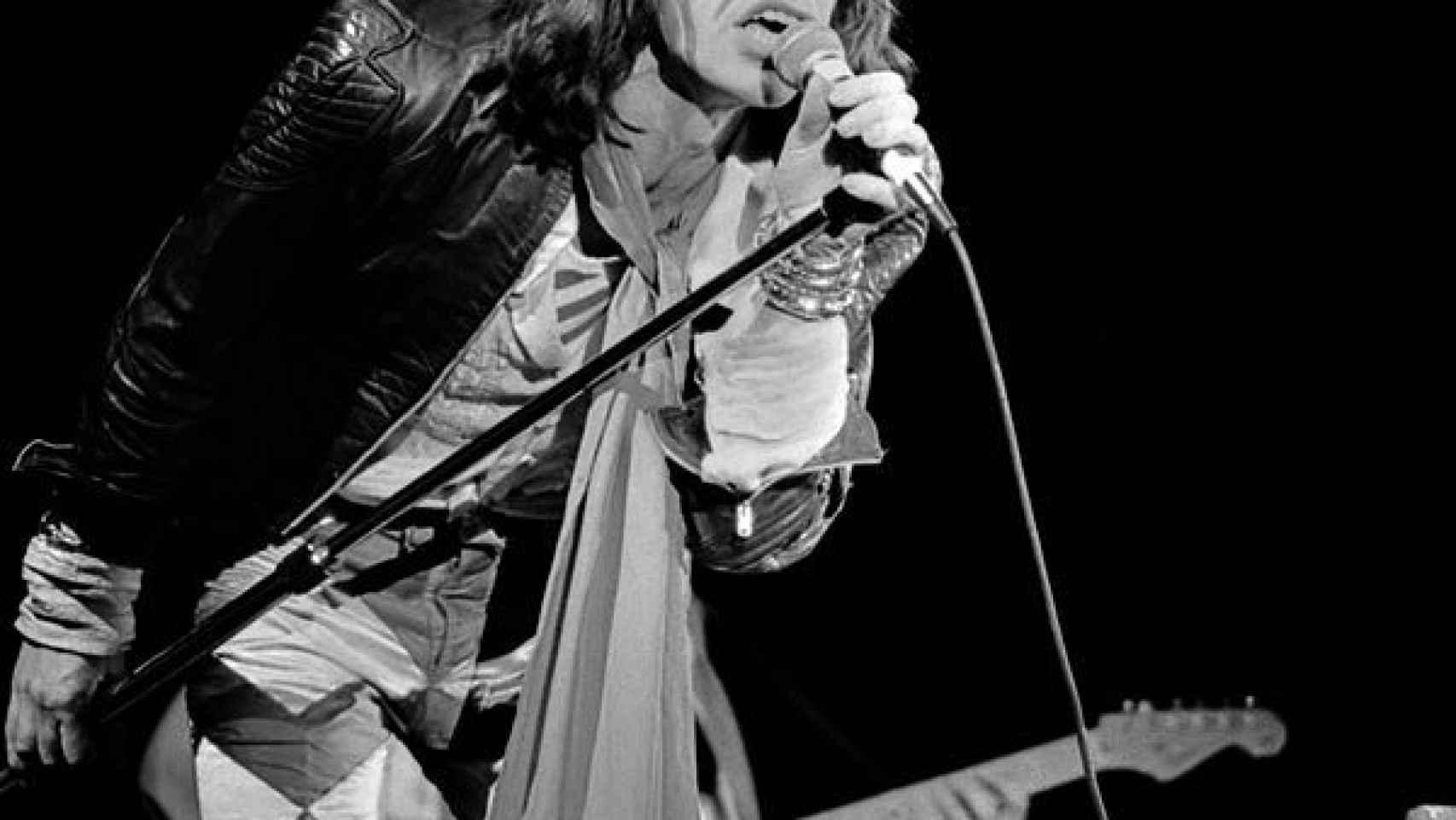 Mick Jagger en 1976