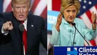 Clinton vs. Trump: dos modelos antagónicos.