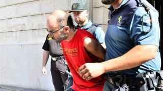 El ex de Xue Sandra en el momento de su detención el pasado 1 de julio.
