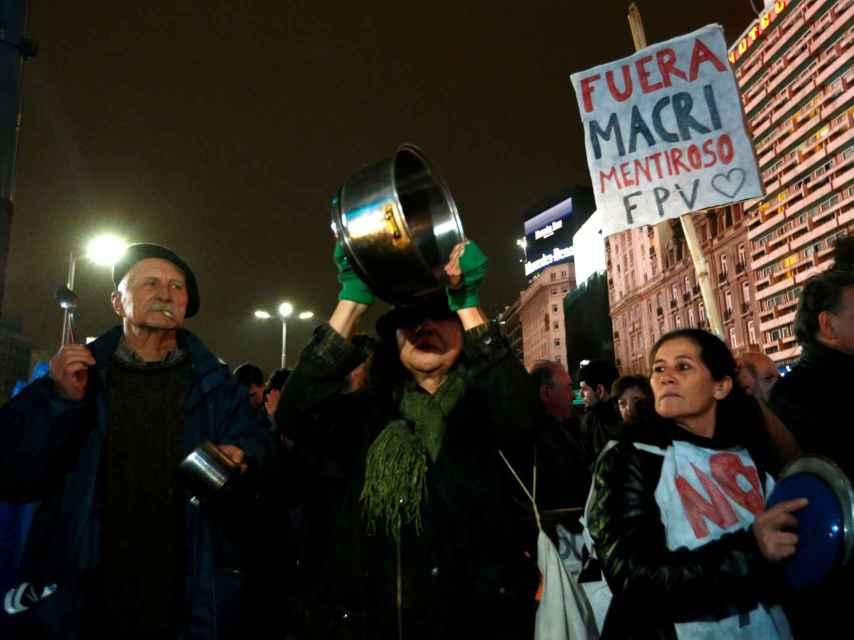El tarifazo desató numerosas protestas en el país.