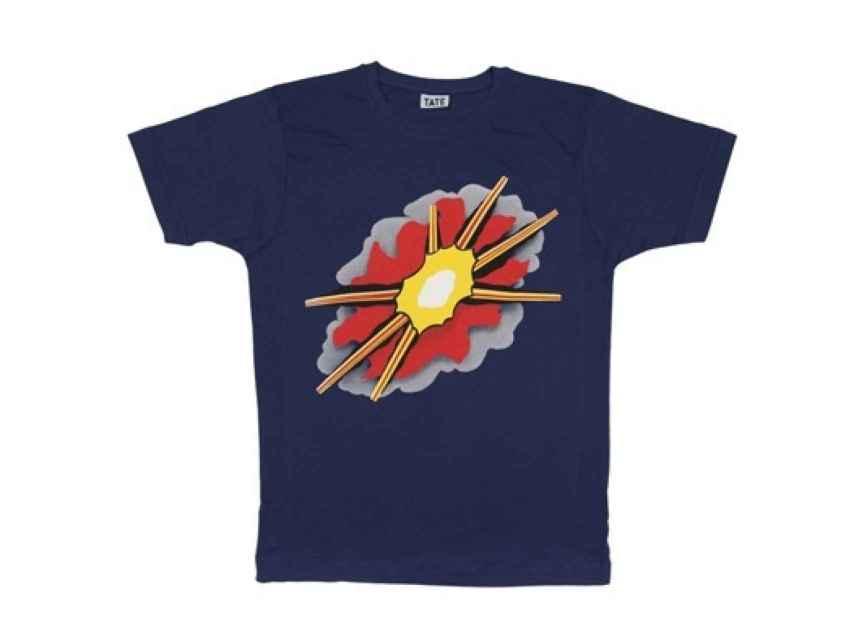 Una de las pocas camiseta-de-museo potable, por 25 libras, en la TATE.