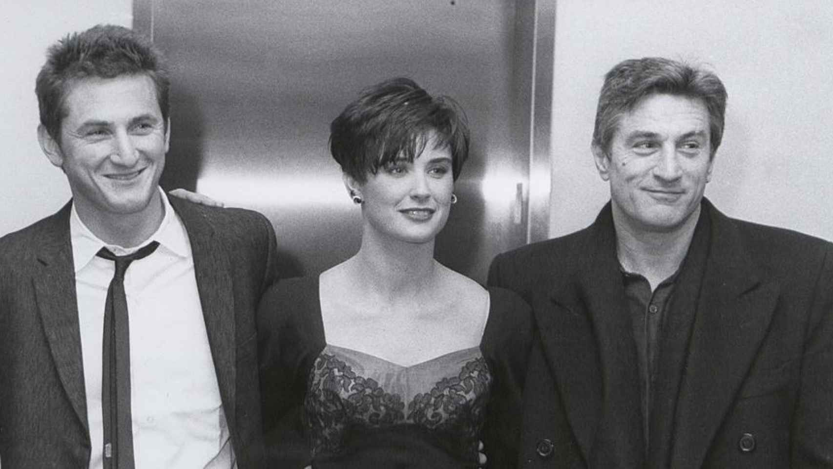 Los actores protagonistas de la película No fuimos ángeles.