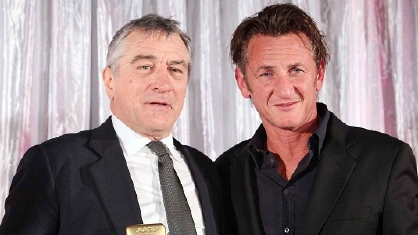 Robert de Niro y Sean Penn celebran hoy su cumpleaños.