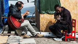 Ensayo de los guitarristas de la orquesta de Calais.