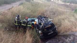 El accidente del sábado en Ricla (Zaragoza) se cobró la vida de una persona.