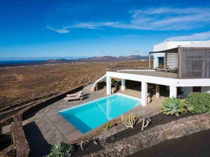 La nueva casa de Justin Bieber en la isla de Lanzarote.