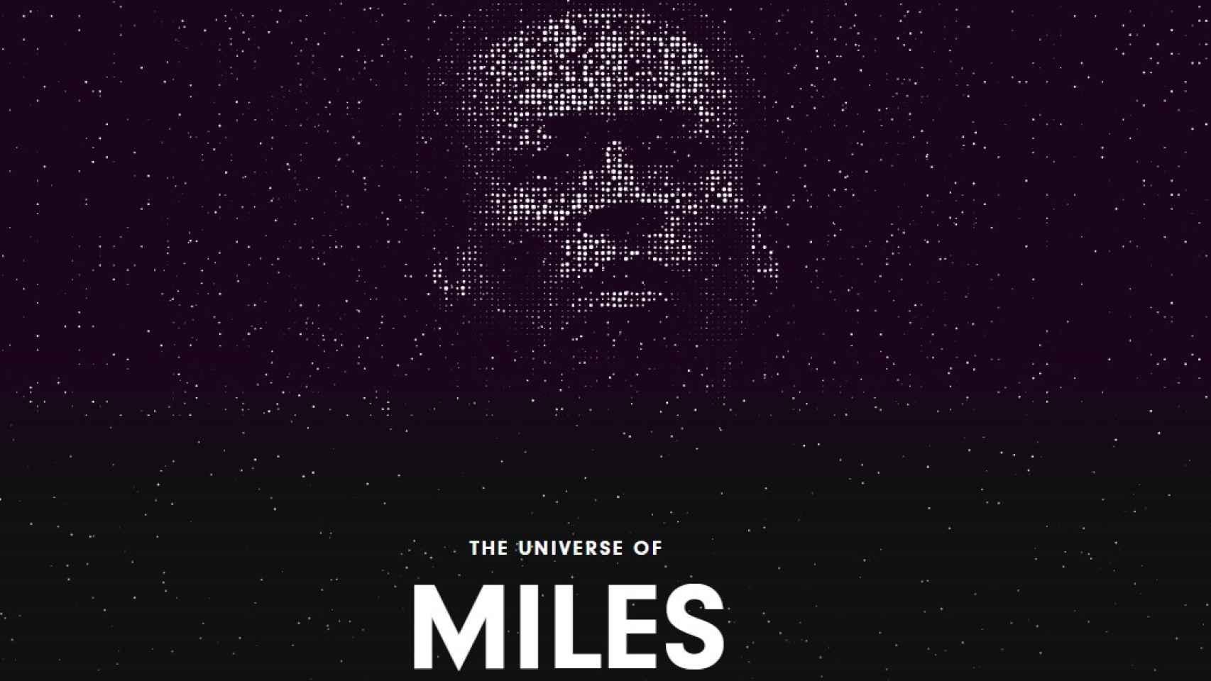 Web del especial de Miles Davis