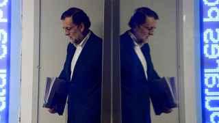 Rajoy entra la sala del Comité de Dirección del PP.
