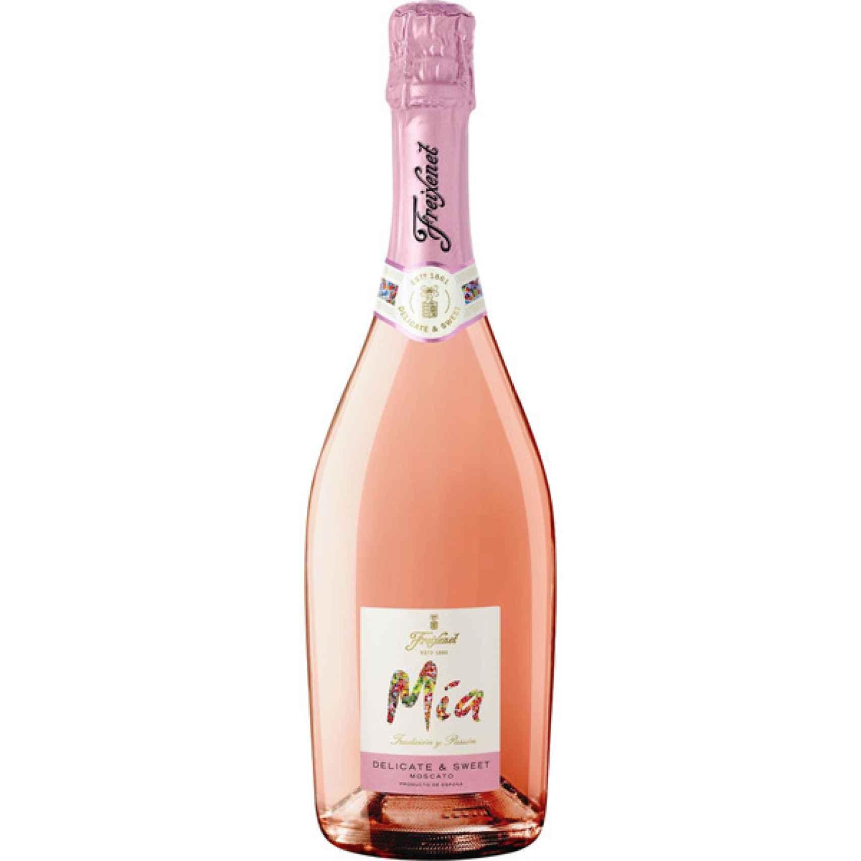 Un frizzante rosado muy fácil para beber en cualquier ocasión.