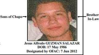 Jesús Alfredo Guzmán Salazar despareció forzosamente el lunes.
