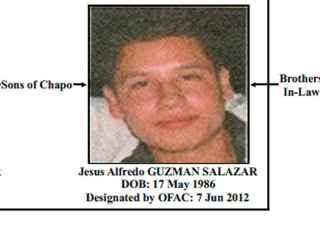 Jesús Alfredo Guzmán despareció forzosamente el lunes.
