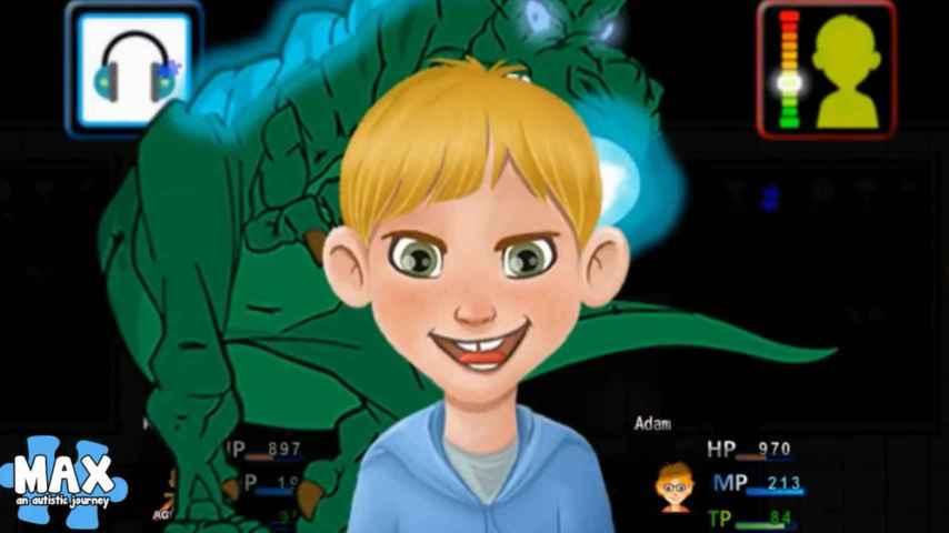 Max, el protagonista del juego creado por su padre