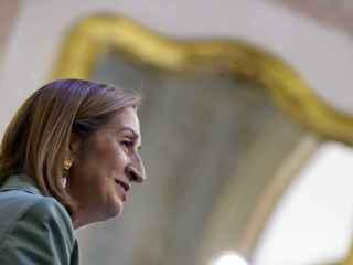 Ana Pastor, durante su intervención el pasado jueves en el Congreso