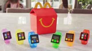 La empresa pretendía regalar estos podómetros con pinta de 'wearable' en sus Happy Meals