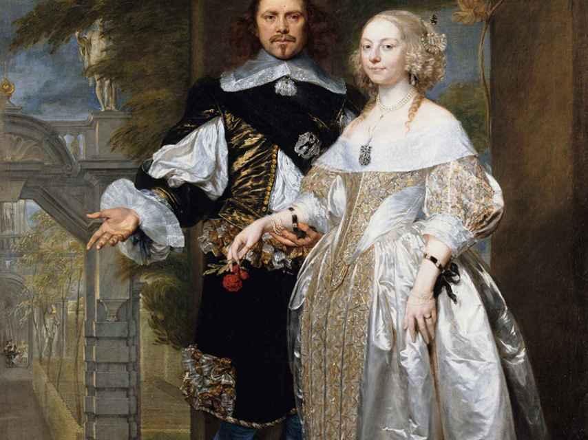Los duques de Newcastle, William y Margaret Cavendish.