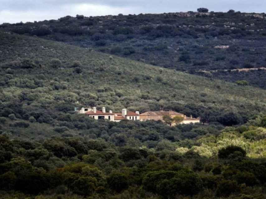 La casa de Mónica Oriol en el Parque Nacional de Cabañeros