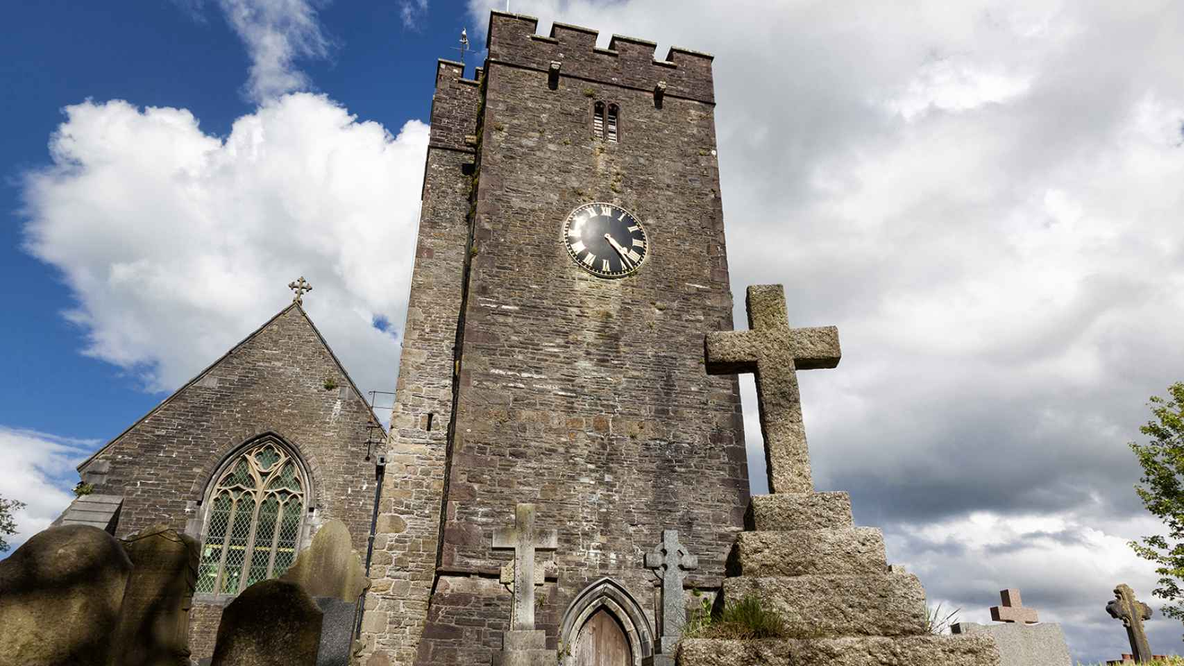 Iglesia en Llandeilo.