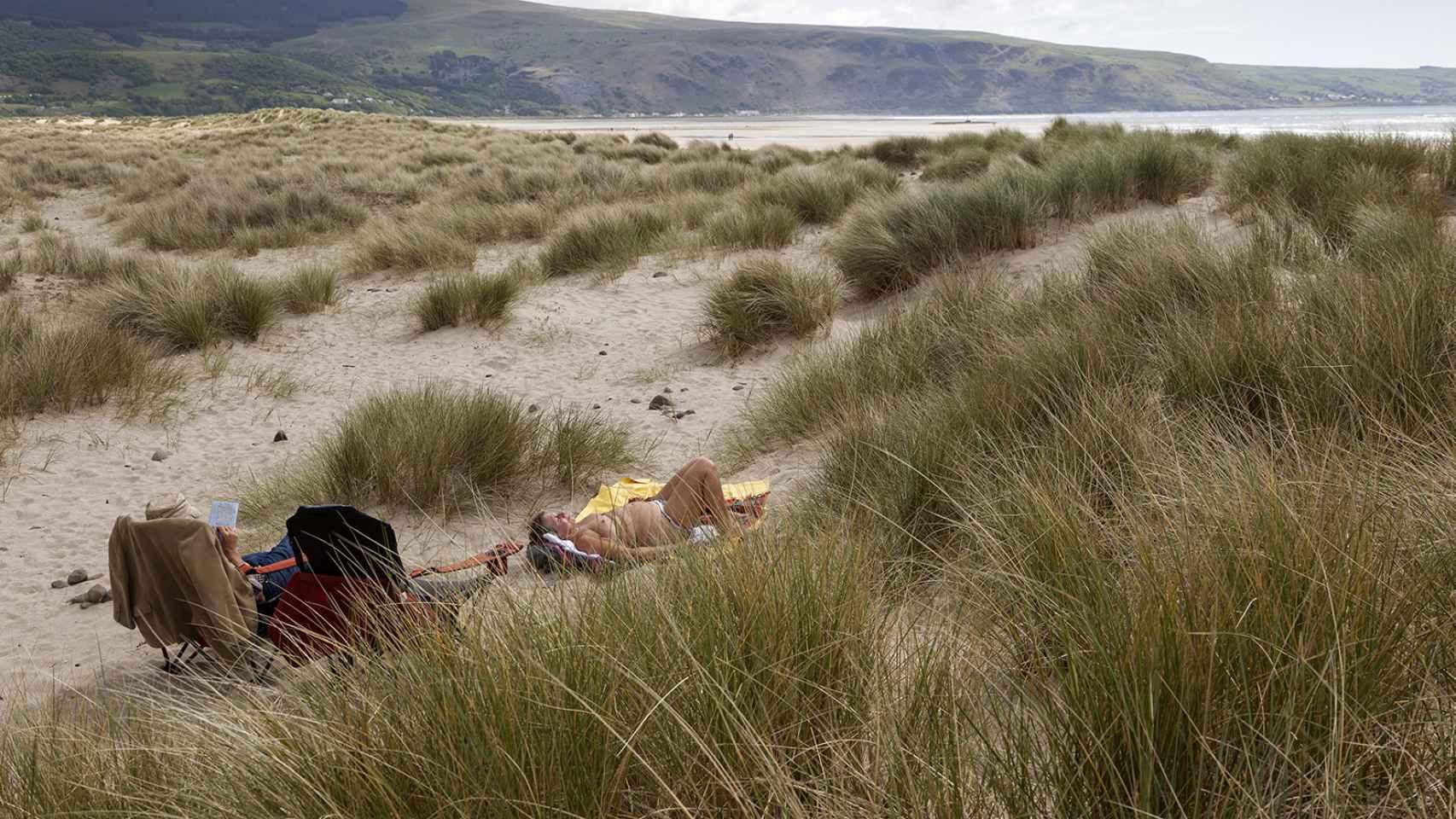 Playa de Barmouth.