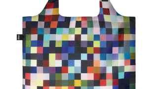 Bolso de pixels vendido en el MoMa de Nueva York.