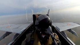 Captura de pantalla del vídeo difundido por el Ejército del Aire.