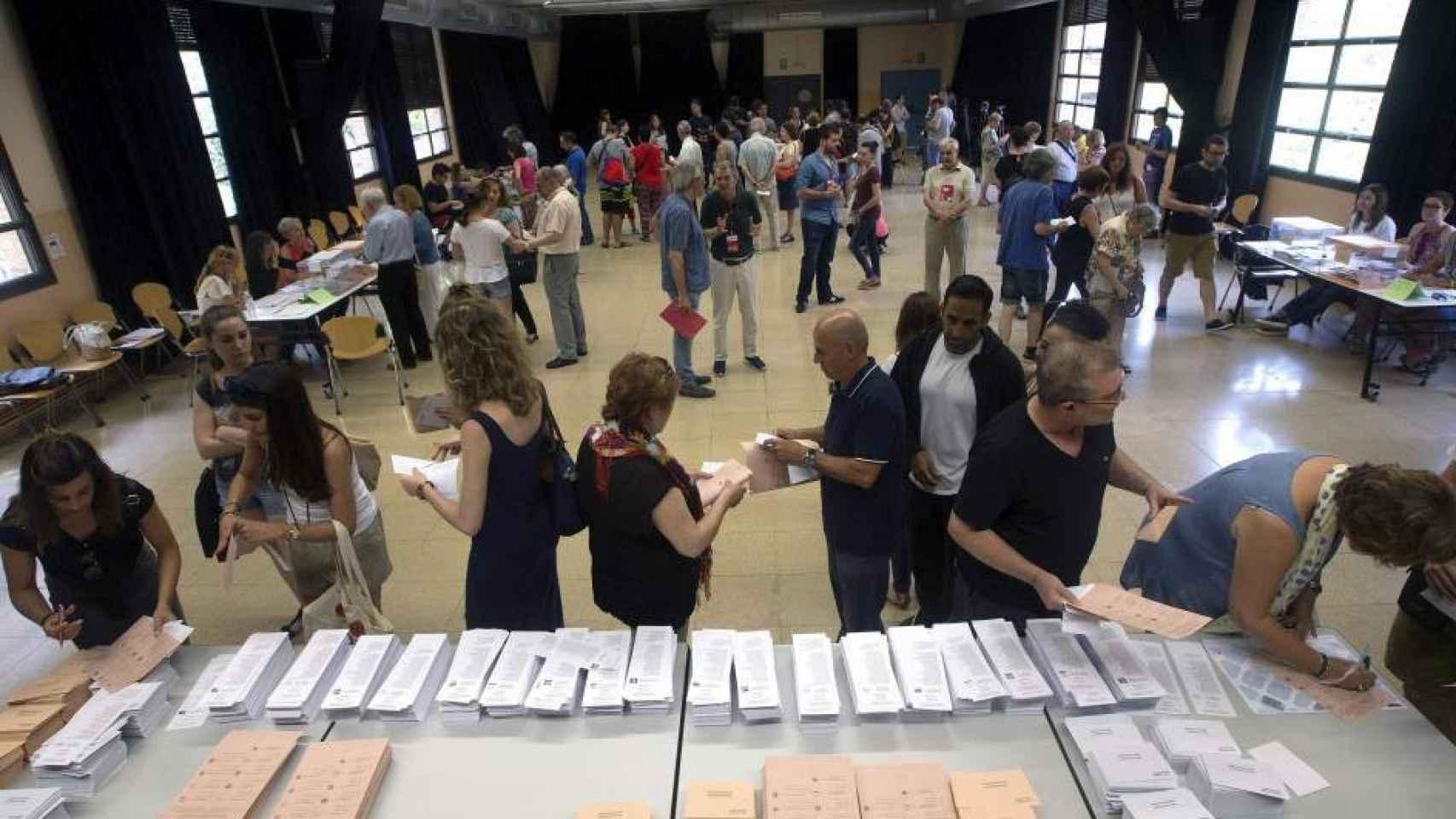 Imagen de las votaciones del pasado 26 de junio