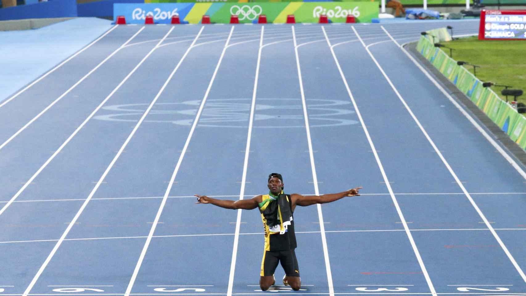Usain Bolt, el rey de la velocidad.