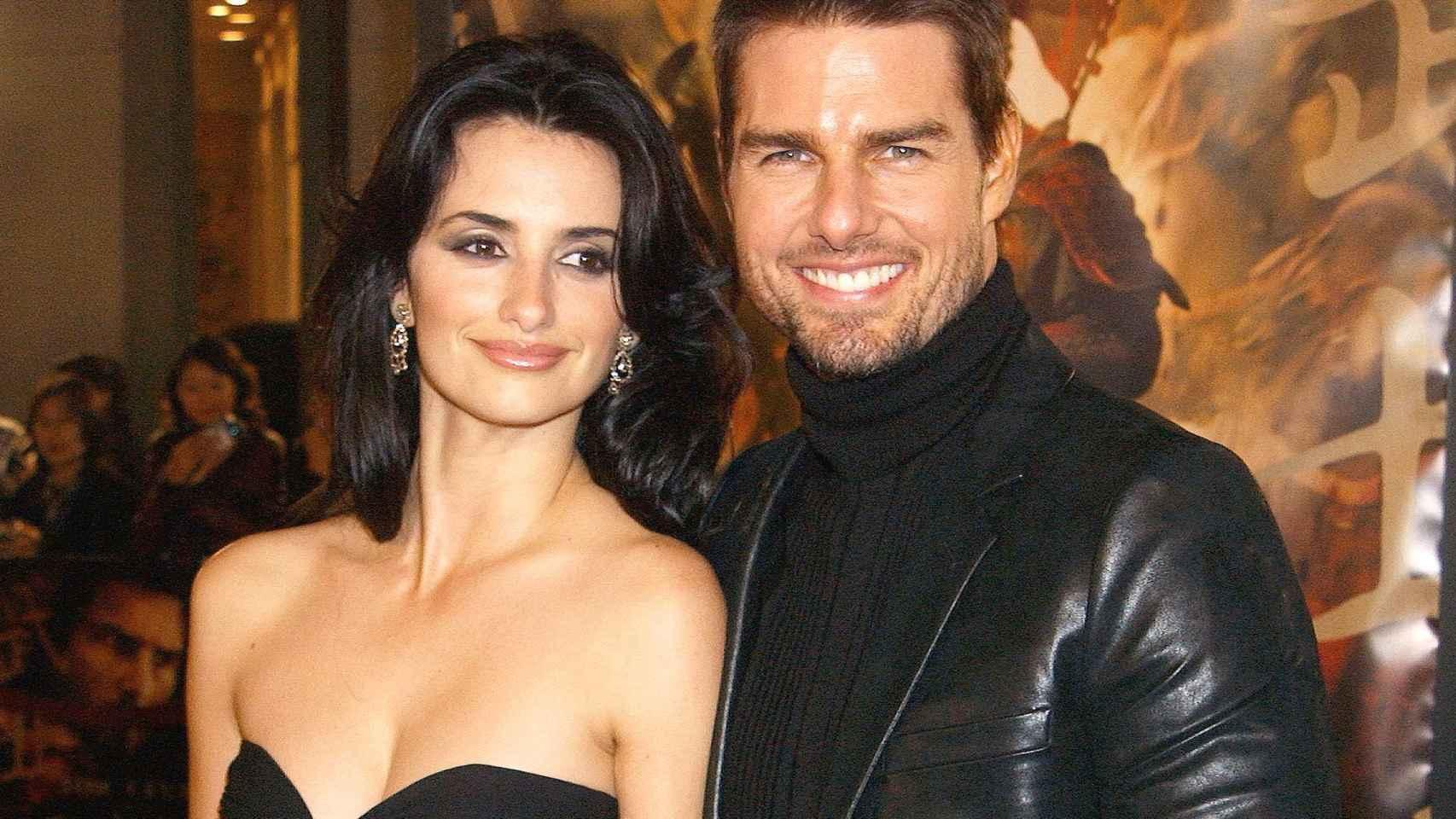 Penélope Cruz y Tom Cruise.