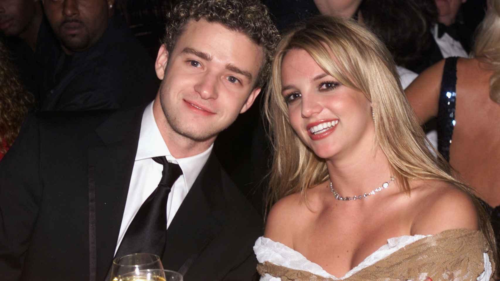 Justin Timberlake y Britney Spears.