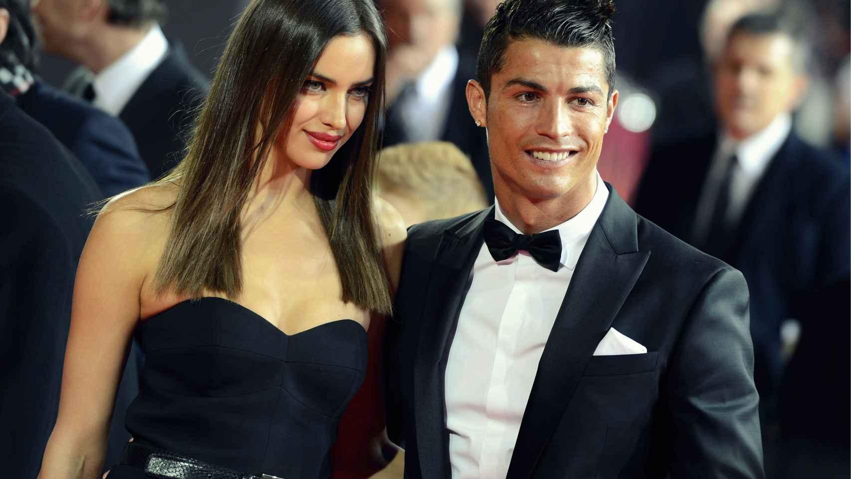 Cristiano Ronaldo e Irina Shayk.