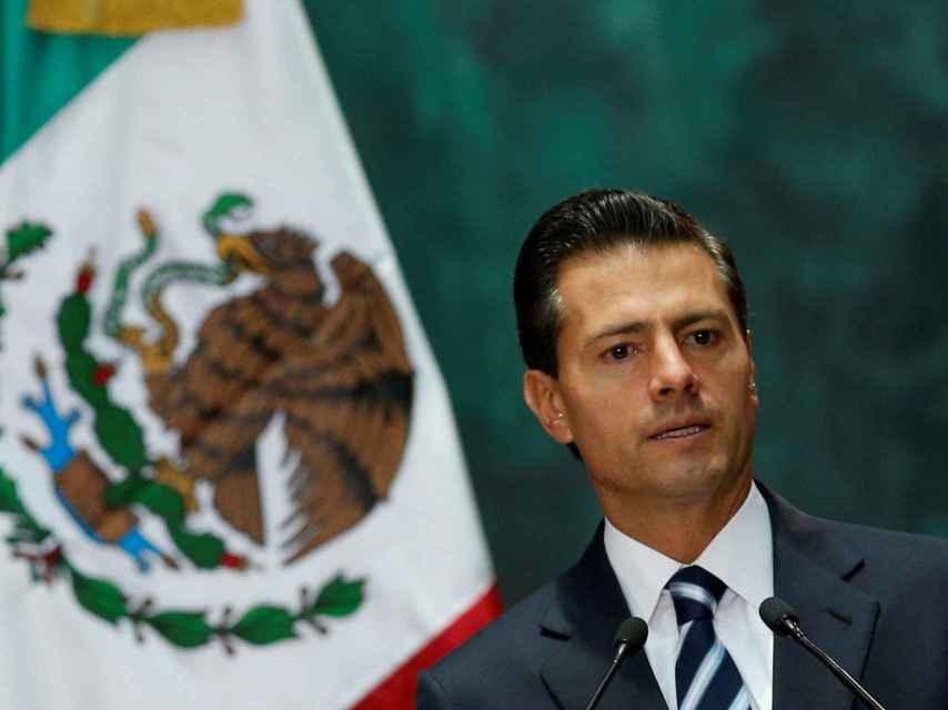 El presidente de México, Peña Nieto.