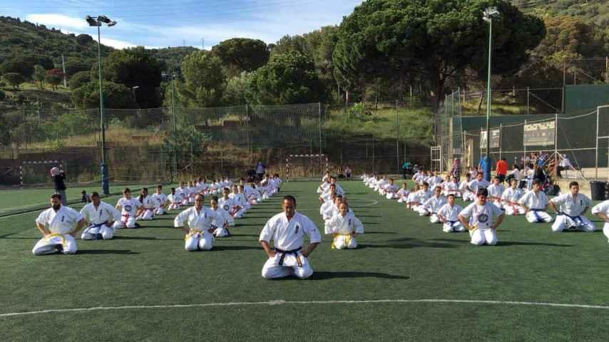 El equipo de karate tiene ya 140 alumnos
